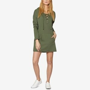Sanctuary Lower East Hooded Sweatshirt Dress XS